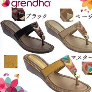 グレンダ(grendha)の★専用★grendha★サンダル★23㎝★新品未使用★(サンダル)