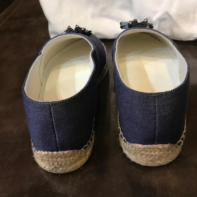Christian Louboutin(クリスチャンルブタン)のクリスチャンルブタン タッセル ブルーデニム エスパドリーユ メンズの靴/シューズ(スニーカー)の商品写真