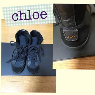 クロエ(Chloe)のクロエハイカットスニーカー36(スニーカー)