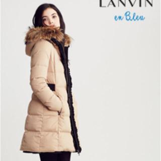 ランバンオンブルー(LANVIN en Bleu)の美品 ランバンオンブルー ダウンコート(ダウンコート)