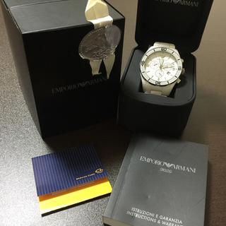 エンポリオアルマーニ(Emporio Armani)の本物 エンポリオアルマーニ  メンズ クロノグラフウォッチ (腕時計(アナログ))