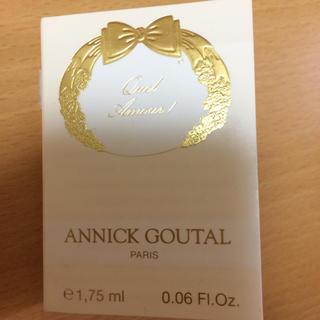 アニックグタール(Annick Goutal)のアニックグダール 試供品(香水(女性用))