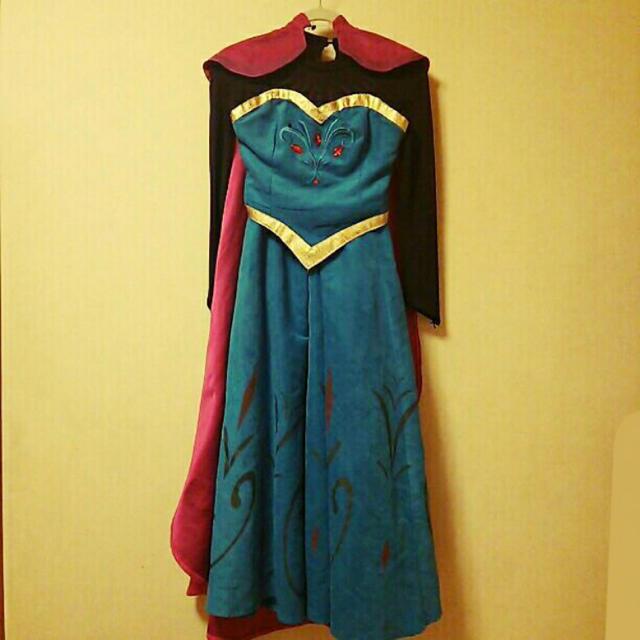 アナと雪の女王 エルサ 戴冠式 ドレス