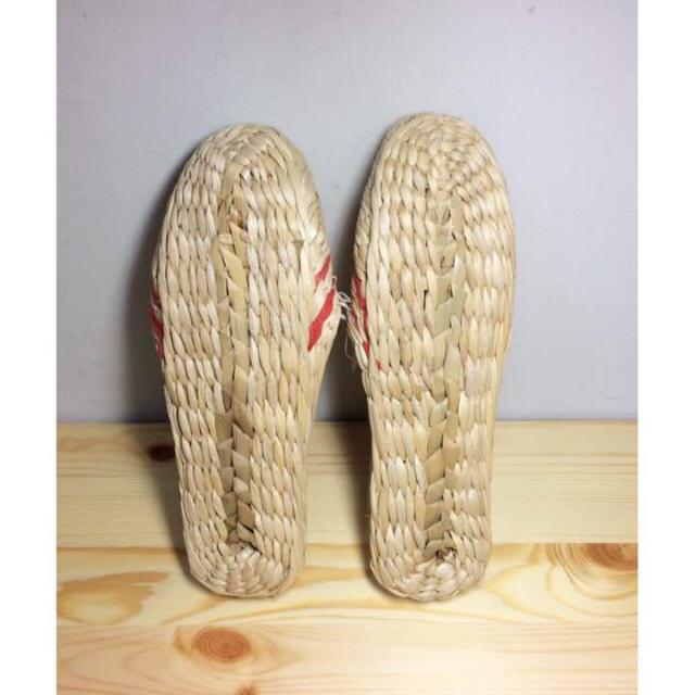 MUJI (無印良品)(ムジルシリョウヒン)のい草 スリッパ インテリア/住まい/日用品のインテリア小物(スリッパ/ルームシューズ)の商品写真