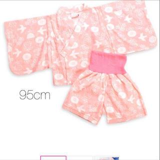 【未使用】浴衣風 パジャマ 95cm(パジャマ)