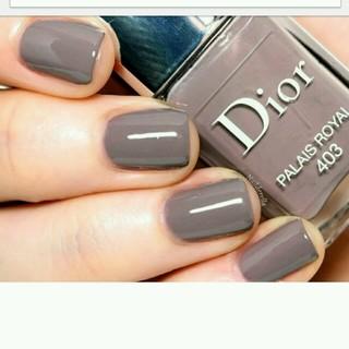 Dior , ディオールヴェルニ 403 PALAIS ROYAL 雑誌掲載人気色
