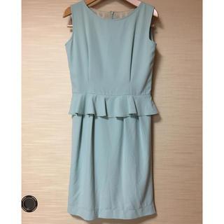 エージーバイアクアガール(AG by aquagirl)のAG by aquagirl 水色 ドレス (ミディアムドレス)