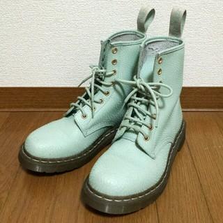 ドクターマーチン(Dr.Martens)のドクターマーチン★ミントグリーン8ホール(ブーツ)