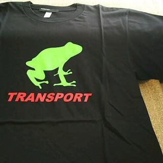 トランスポート(TRANSPORT)の新品 TRANSPORT FROG T-SHIRT Mサイズ(Tシャツ/カットソー(半袖/袖なし))