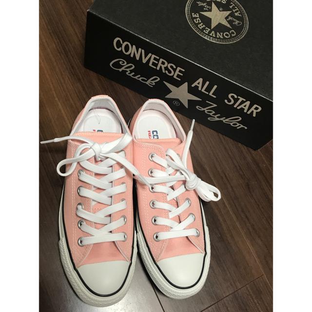 CONVERSE(コンバース)のコンバース ピンク 23.5cm レディースの靴/シューズ(スニーカー)の商品写真