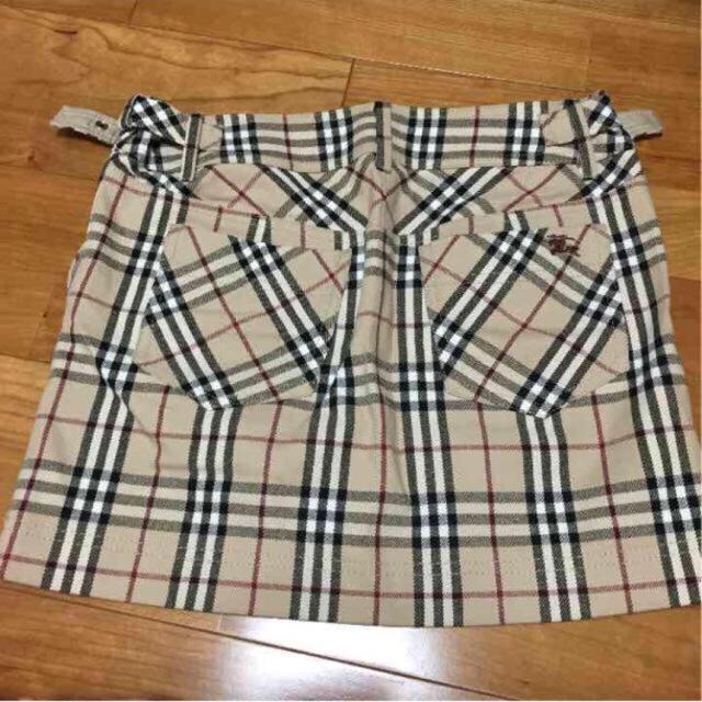 BURBERRY(バーバリー)のバーバリーブルーレーベル36 レディースのスカート(ミニスカート)の商品写真