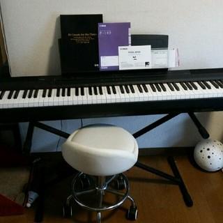 YAMAHA ヤマハ 電子ピアノ P-105  ブラック(電子ピアノ)