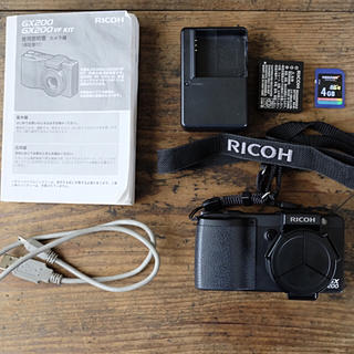 リコー(RICOH)のRICOH GX200 コンパクトデジタルカメラ(コンパクトデジタルカメラ)