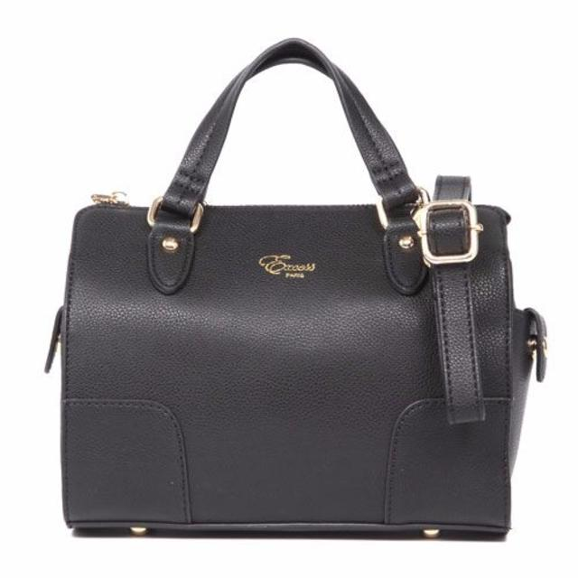 FIRANOコレクション2WAYボストンバッグ」ブラックGINZA掲載商品 レディースのバッグ(ボストンバッグ)の商品写真