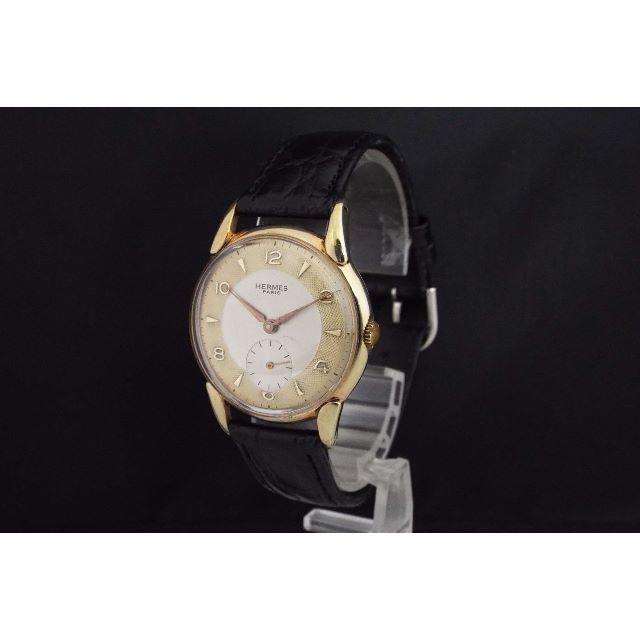 newest 570ea ea7bd HERMES エルメス/手巻き/メンズ腕時計/アンティーク/スモセコ/M43 | フリマアプリ ラクマ