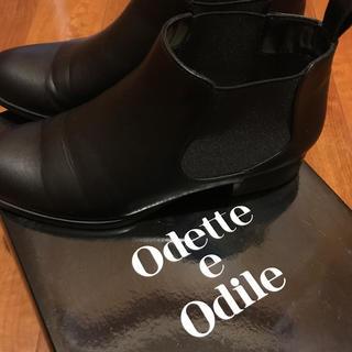 オデットエオディール(Odette e Odile)のオデットエオディール ユナイテッドアローズ サイドゴアブーツ 22.5(ブーツ)