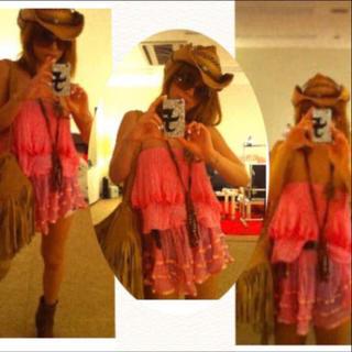 ジェンズパイレーツブーティ(Jen's Pirate Booty)の浜崎あゆみ着用❤️jen's pirate booty ベアトップス(ベアトップ/チューブトップ)