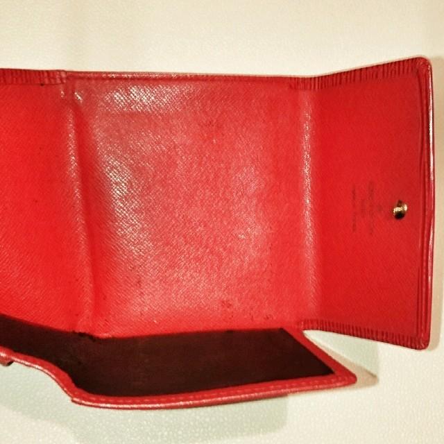 LOUIS VUITTON(ルイヴィトン)の人気 財布 ルイヴィトン エピ Wホック 三つ折り財布 レディースのファッション小物(財布)の商品写真
