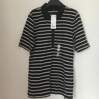 ユニクロ(UNIQLO)のUNIQLOリブボーダーポロシャツ(ポロシャツ)