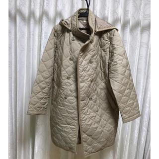ムジルシリョウヒン(MUJI (無印良品))の美品 無印良品 ママコート 中綿キルティング(マタニティアウター)