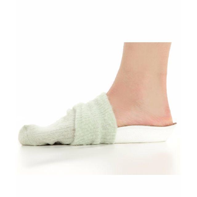 ベージュ 靴 脱いでも バレない 身長 アップ シークレット インソール 靴下 メンズのレッグウェア(その他)の商品写真