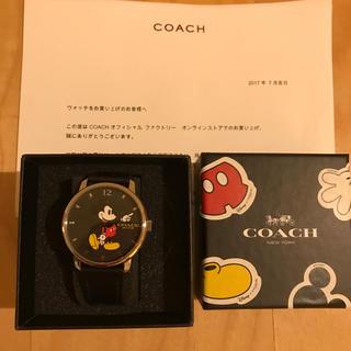 6663cc7edb67 コーチ(COACH)の新品 Coach(コーチ) 腕時計 Disney コラボ ミッキー (腕時計