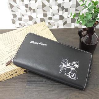 ディズニー(Disney)の【新品】ミッキー 財布 ユニセックス(長財布)
