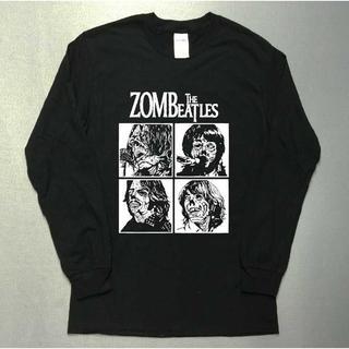 ゾンビビートルズ☆クラッシックロック☆長袖ロングTシャツutn313(Tシャツ/カットソー(七分/長袖))