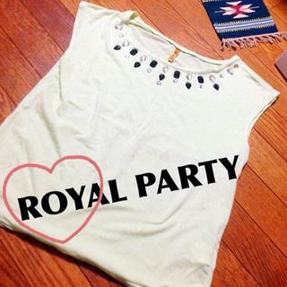 ロイヤルパーティー(ROYAL PARTY)のROYAL PARTYのパステルトップス(カットソー(半袖/袖なし))