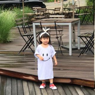 スマイルワンピース ❤︎韓国子ども服❤︎(ワンピース)