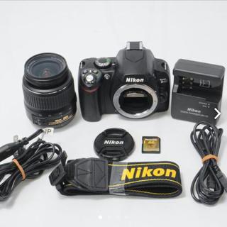 ニコン(Nikon)の★美品★ショット数極小!NIKON ニコン D40レンズ! (デジタル一眼)