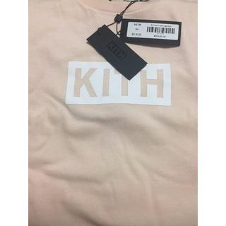 KITH CLASSIC LOGO TEE LIGHT PINK 希少Mサイズ(Tシャツ/カットソー(半袖/袖なし))