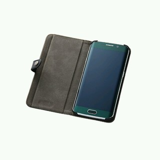 エレコム(ELECOM)の新品 Galaxy S6 edge レザーケース(Androidケース)