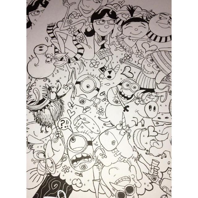 ミニオン塗り絵の通販 By Mas Shopラクマ