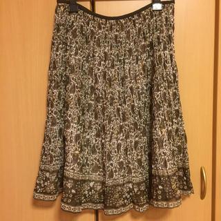 ニジュウサンク(23区)のダツハナママ様用 23区 大きいサイズ シフォンスカート 46(ひざ丈スカート)