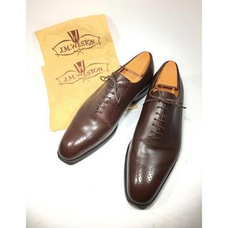 ジェーエムウエストン(J.M. WESTON)のjm weston ホールカット 582 25.5cm 正規靴木・袋付(ドレス/ビジネス)