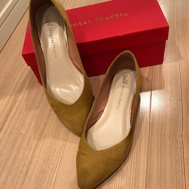 ORiental TRaffic(オリエンタルトラフィック)のオリエンタルトラフィックのカーキスエードパンプス レディースの靴/シューズ(ハイヒール/パンプス)の商品写真