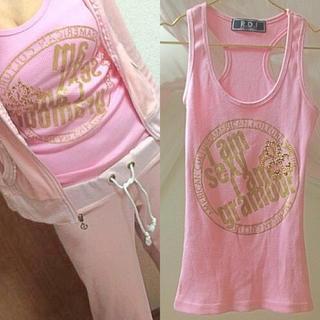 レディー(Rady)のスポーツウェアも絶対ピンク!キラキラ可愛い♡タクントップ♡ヨガウェア、ジムウェア(ヨガ)