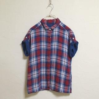 ギャップ(GAP)のGAP1969 美品 チェックシャツ 極上 ギャップ 1969 レア 半袖 M(シャツ/ブラウス(半袖/袖なし))