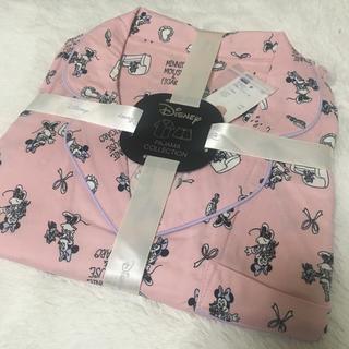 ジーユー(GU)のラスト1つ!最終値下げ!GU ディズニーコラボ ミニーパジャマ ピンク (パジャマ)
