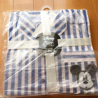 ジーユー(GU)の   mii様 専用    GU パジャマ ミッキー ストライプ 新品未開封(パジャマ)