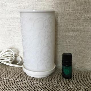 アユーラ(AYURA)の美品 アユーラ アロマオイル ランプセット(アロマポット/アロマランプ/芳香器)