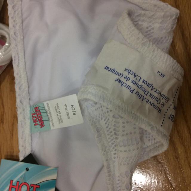 新品未使用 ホワイト ビキニ  レディースの水着/浴衣(水着)の商品写真