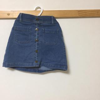 ジーユー(GU)のGU☆デニムスカート(スカート)