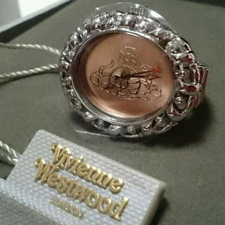 ヴィヴィアンウエストウッド(Vivienne Westwood)のヴィヴィアンウエストウッド リング ウォッチ☆新品未使用☆[正規品] 指輪 時計(リング(指輪))