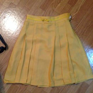 プーラフリーム(pour la frime)のプーラフリーム◎イエロースカート(ひざ丈スカート)