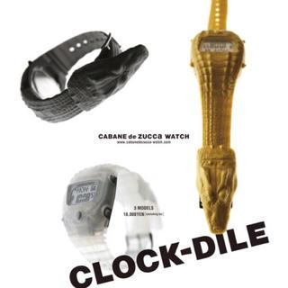 カバンドズッカ(CABANE de ZUCCa)の【限定品】CLOCK-DILE クロックダイル(腕時計(デジタル))