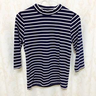 ジーユー(GU)の7部丈ボーダーシャツ♡(Tシャツ(長袖/七分))