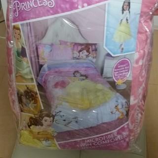 ディズニー(Disney)のDisney princess 美女と野獣 掛け布団(夏用)(布団)