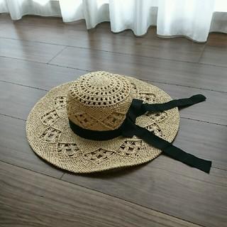 エストネーション(ESTNATION)のROPE 麦わら帽子 ストローハット(麦わら帽子/ストローハット)
